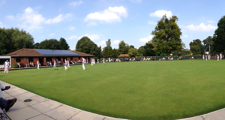 Taunton Bowling Club Panoramic of Green