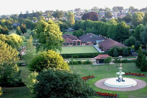 Taunton Bowling Club Aerial View