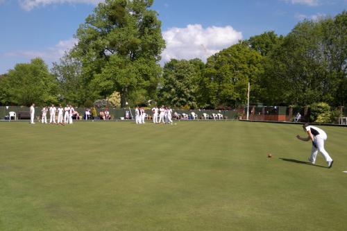 Taunton Bowling Club Taking A Shot