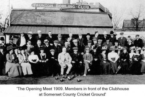 Taunton Bowling Club Opening Meet 1909